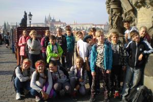 Exkurze 6. třídy do Prahy