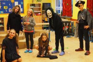 Akce Školního parlamentu   - Nebojte  se  strašidel !!!