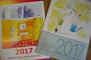 Školní kalendář 2017