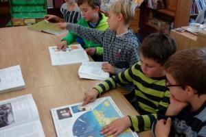 Návštěva knihovny v Úpici