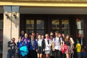 Návštěva Klicperova divadla